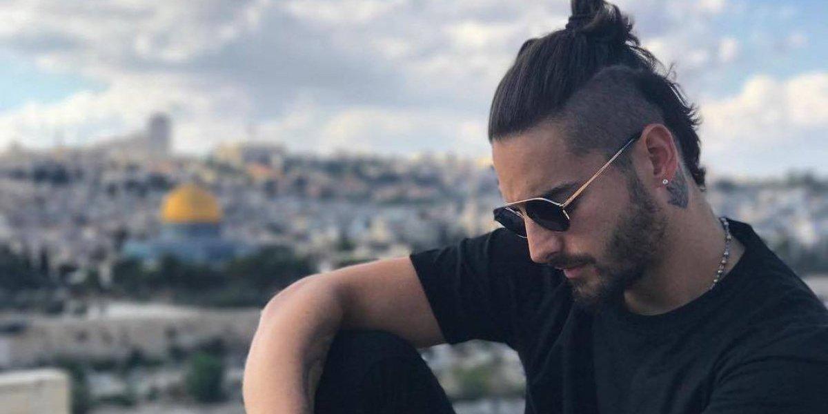 Maluma provoca discusión entre israelíes y palestinos por una foto