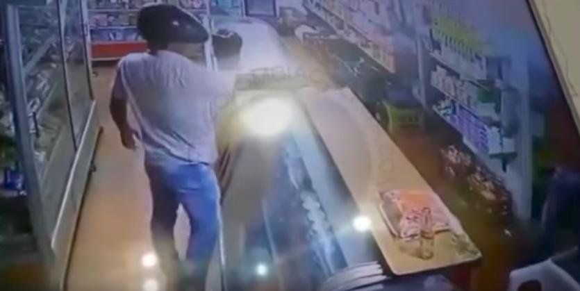 En video quedó grabado disparo de un ladrón dirigido a un niño de cuatro años