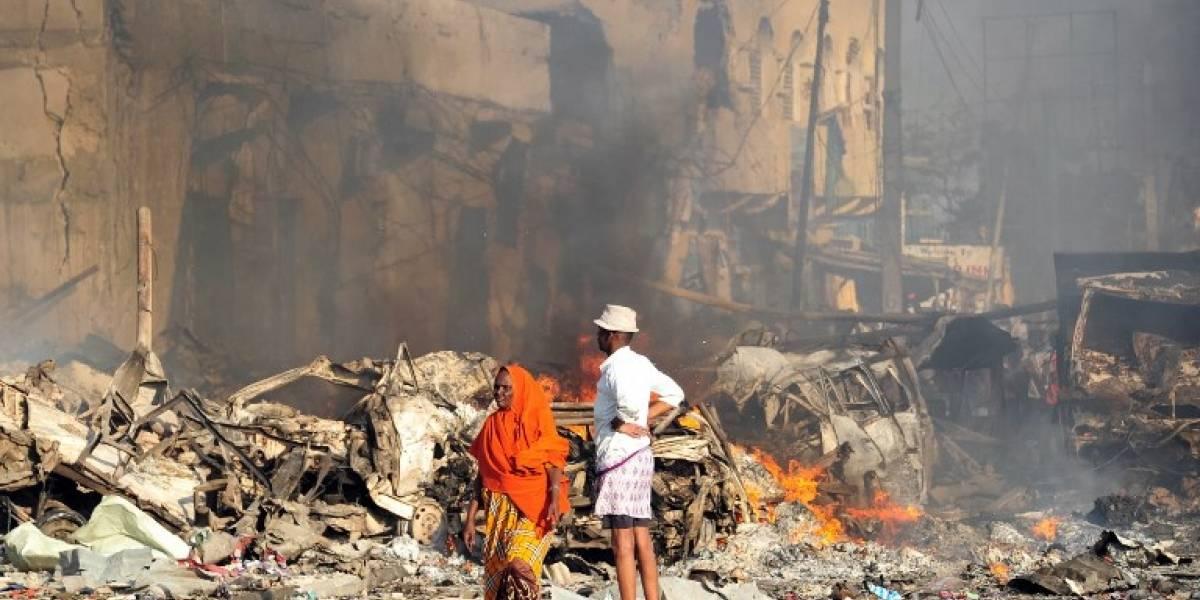 EN IMÁGENES. Atentado deja más de 130 muertos en Somalia