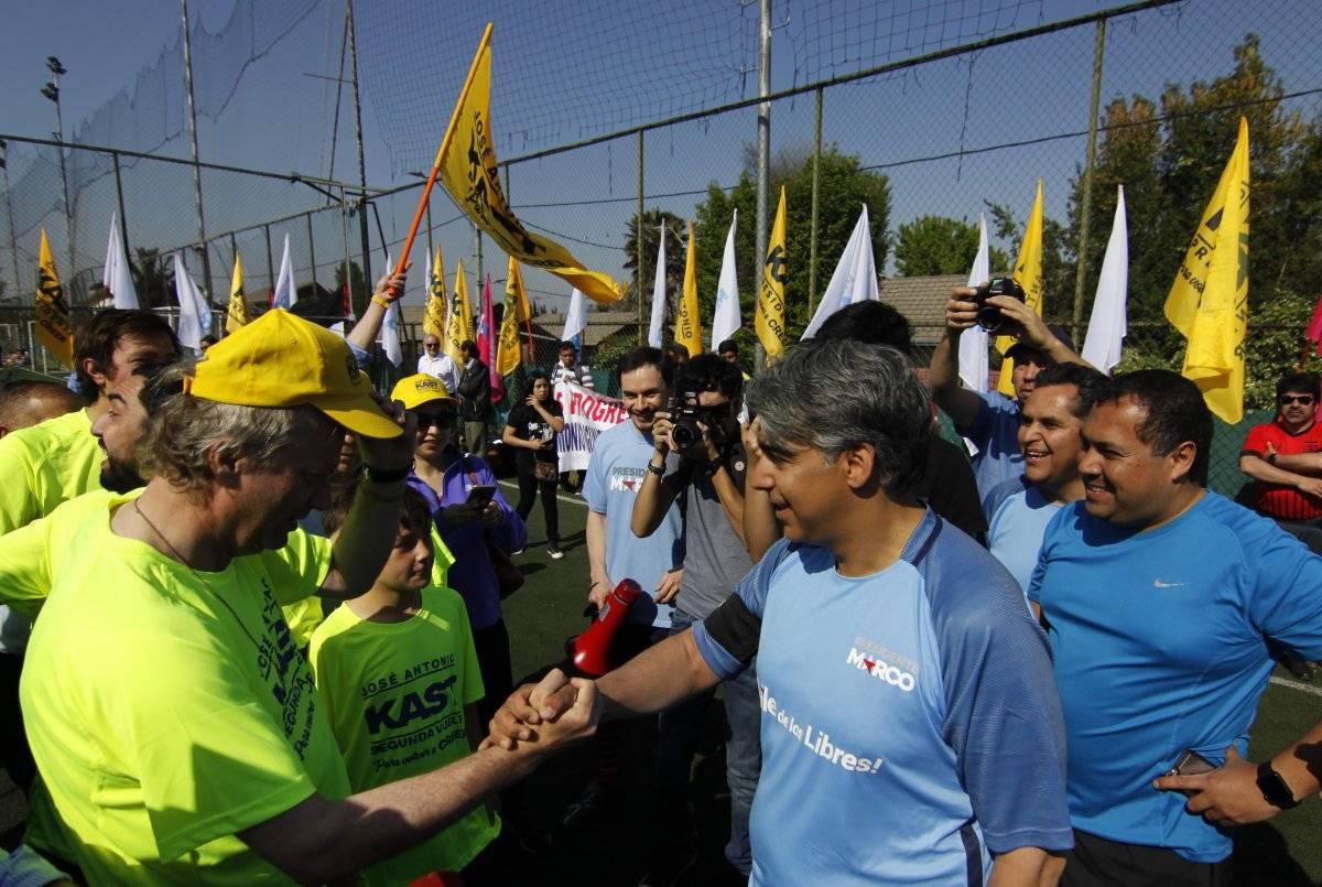 Partido de futbol organizado por candidatos presidenciales