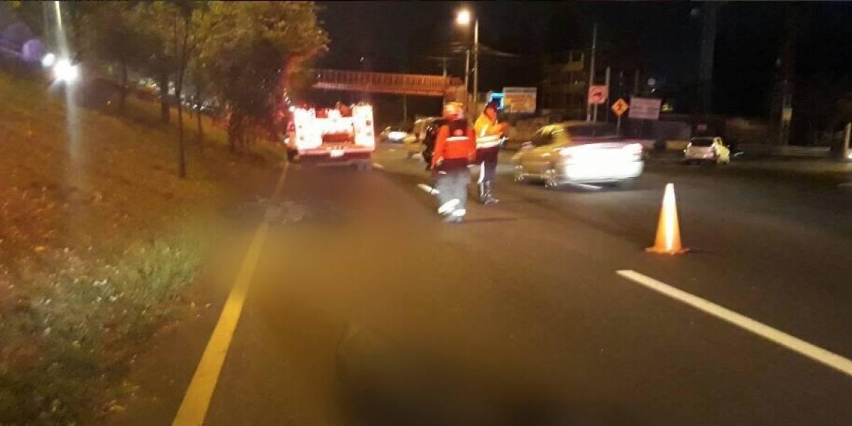 Dos fallecidos tras accidente de tránsito en La Mañosca, en Quito