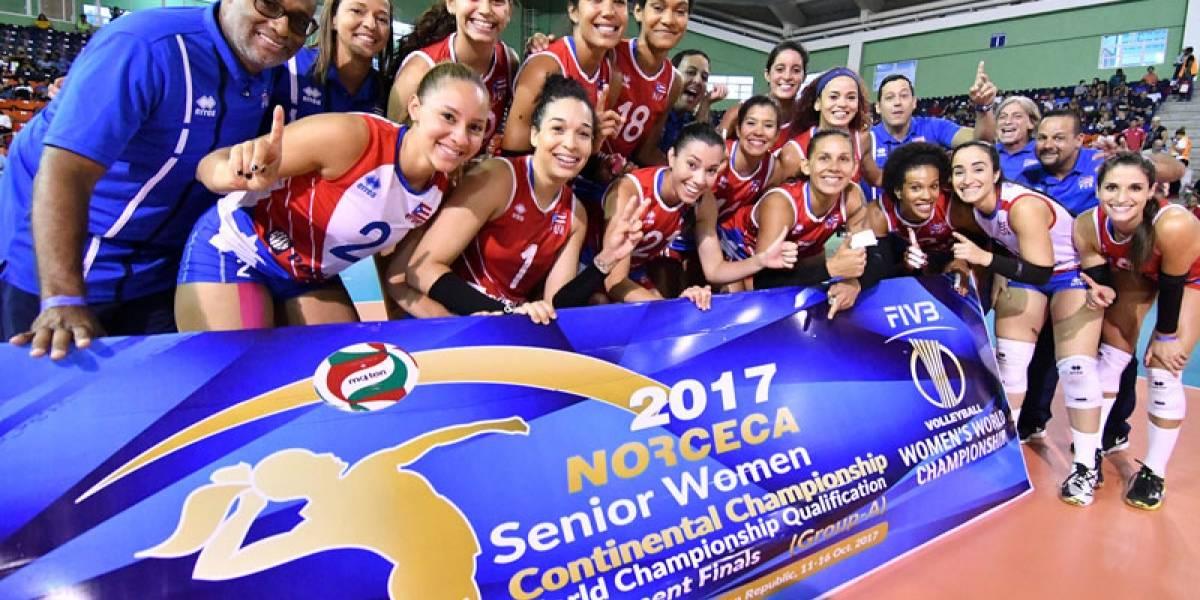 Equipo nacional femenino de voleibol asegura boleto al Mundial FIVB