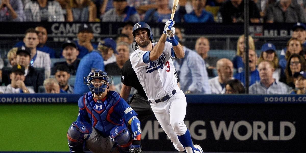 Chris Taylor rompe empate para encaminar triunfo de Dodgers sobre Cachorros