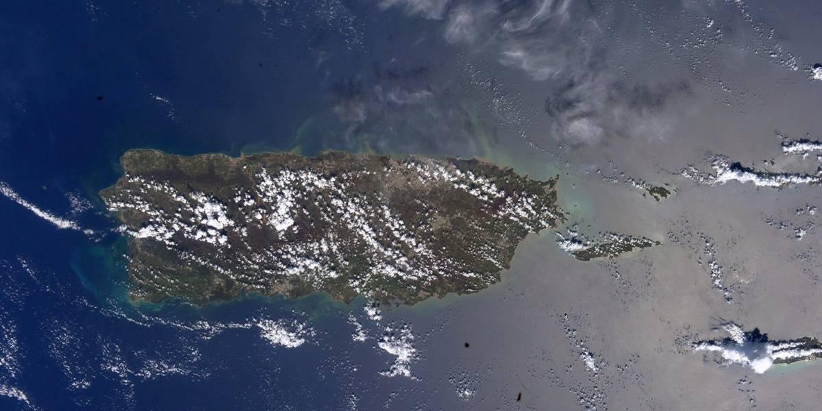 Publican foto de Puerto Rico desde el espacio a tres semanas de María