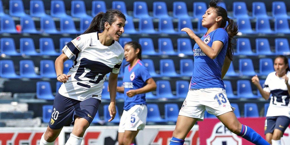 Cruz Azul Femenil regresa al Azul y cae ante Pumas