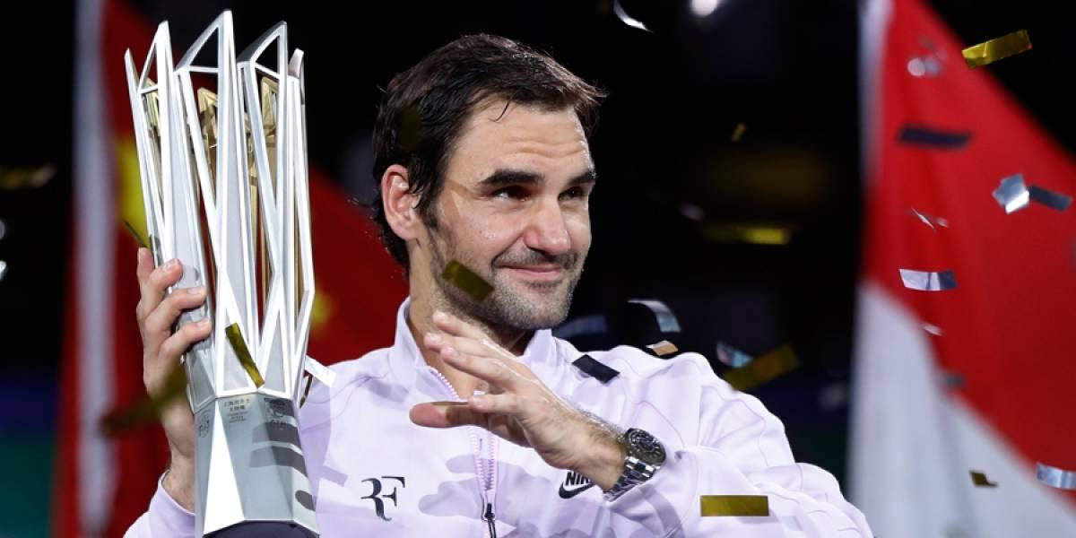 Federer vence a Nadal y se corona en el Masters de Shanghai 2017