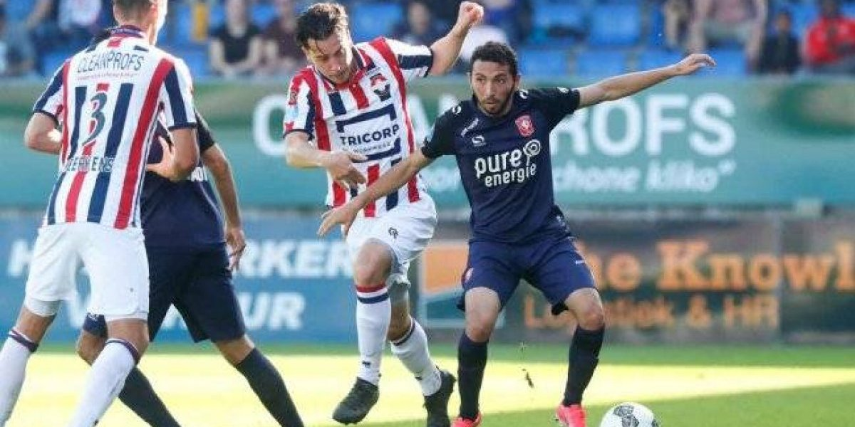 Pensando en el recambio: Cimbi Cuevas debutó como titular del Twente holandés