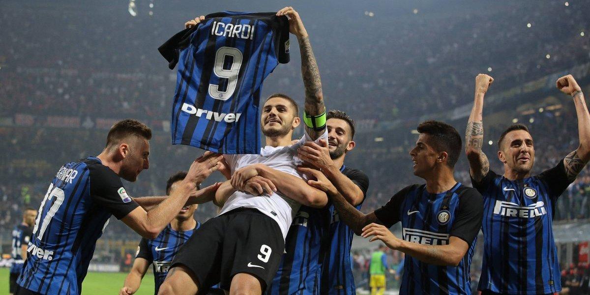 Inter se impone en el 'Derby della Madonnina' con gol de último minuto