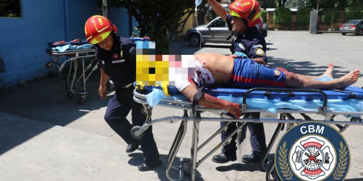 Ataque armado en El Mezquital, zona 12, deja 3 personas heridas