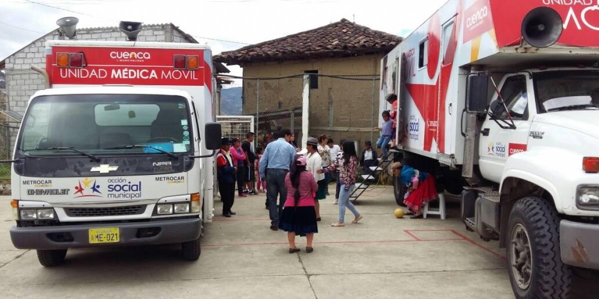 Jornadas médicas gratuitas del Municipio de Cuenca llegan a las parroquias