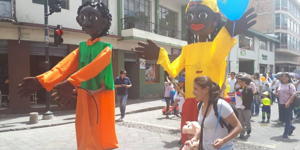 Séptimo festival internacional de títeres se cumple en Cuenca