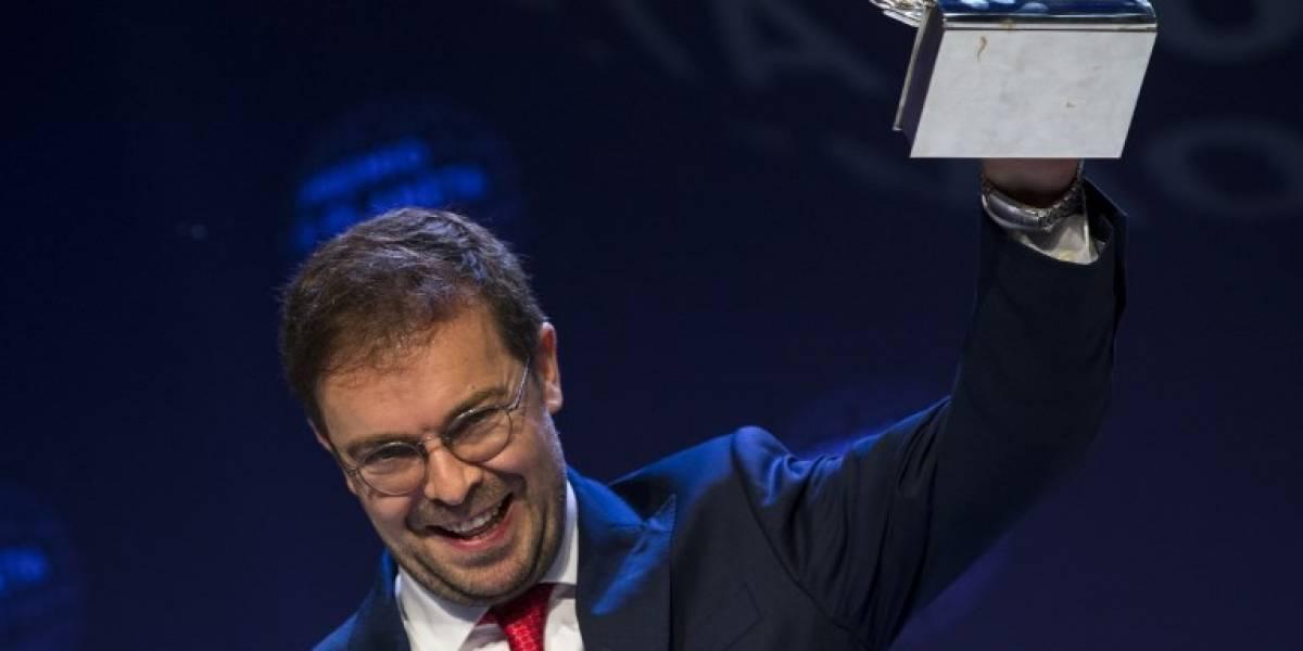 Español Javier Sierra gana el Premio Planeta de novela 2017