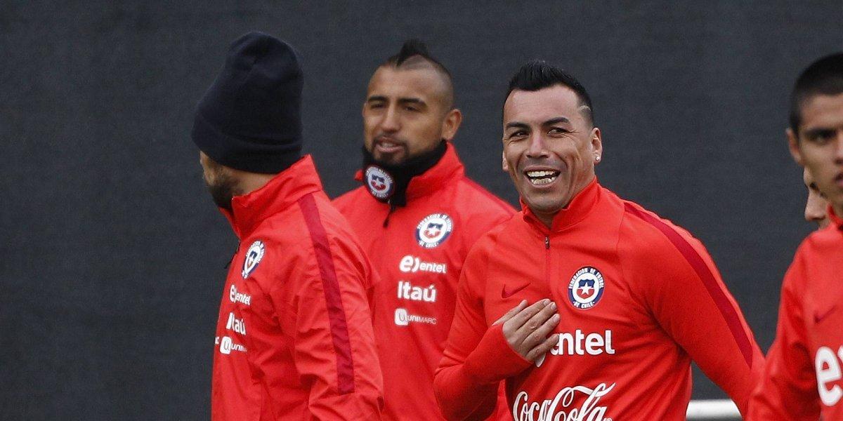 Esteban Paredes confirma problemas en la Roja y sale en defensa de Arturo Vidal