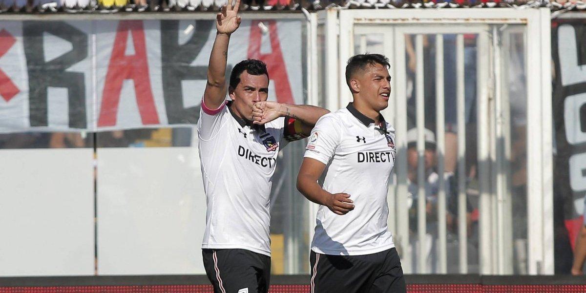 Paredes y Morales llevaron a Colo Colo a lo más alto del torneo de Transición