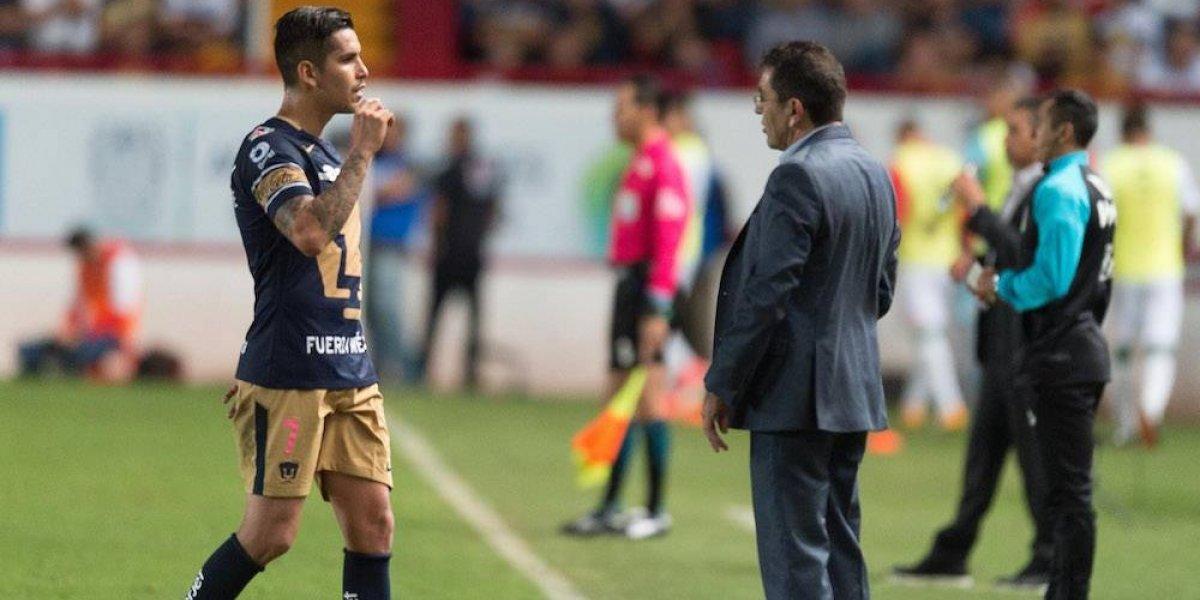 Pumas saca empate en presentación de David Patiño como su entrenador