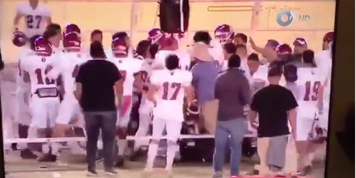 VIDEO: Jugadores de Águilas Blancas agreden a árbitros ¡violencia en la Onefa