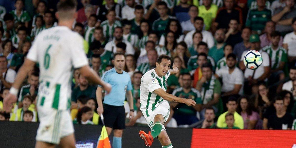 Guardado juega los 90 minutos en goleada al Betis