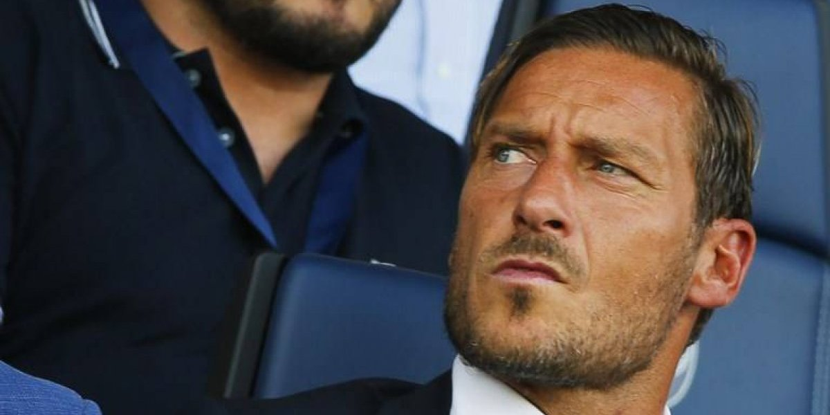 """La descripción de otro planeta que hizo Totti de Neymar, Messi y CR7: """"Son extraterrestres"""""""