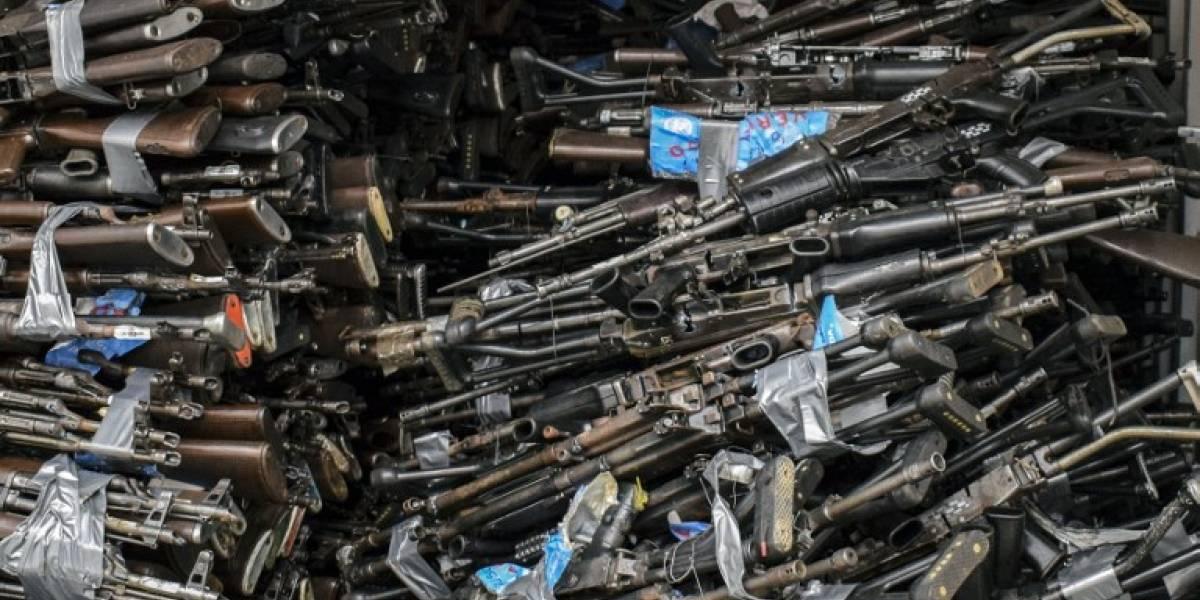 Las FARC guardaban más de 69 toneladas  de armas, municiones y explosivos
