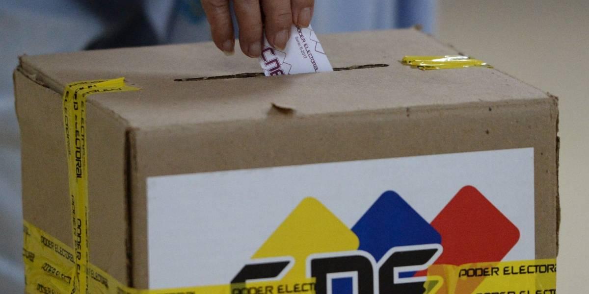 """Maduro proclama una """"victoria tajante"""" en las elecciones regionales de Venezuela"""