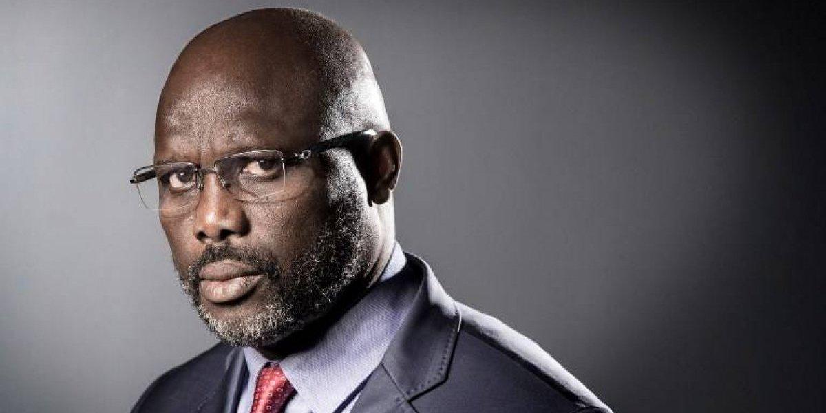 Un Weah feliz: su hijo la rompe en el Mundial y está a un paso de ser el nuevo presidente de Liberia