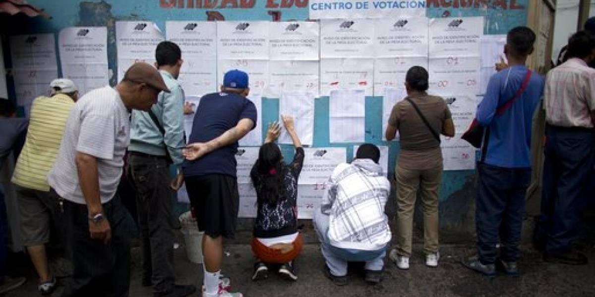 Oficialismo es dado como ganador en comicios en Venezuela