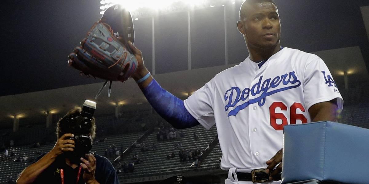 Puig anota carrera del triunfo de los Dodgers