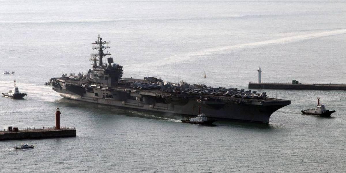 Estados Unidos muestra su poderío a Corea del Norte: así es la gigantesca maniobra naval que alerta a Kim Jong-un