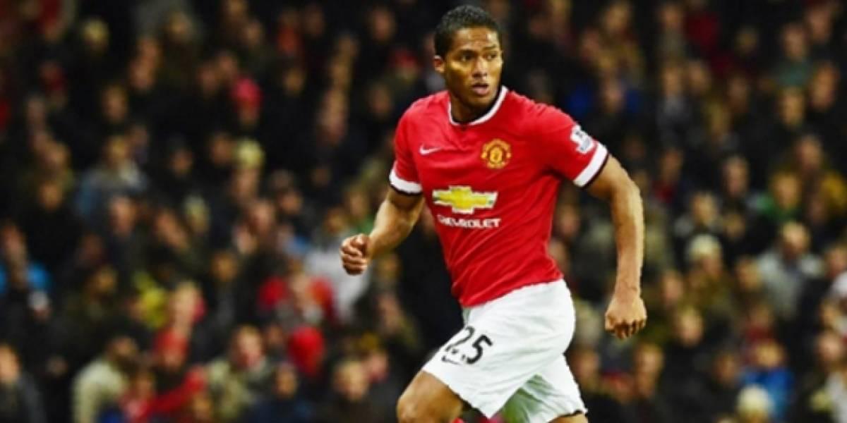 Valencia, el jugador no europeo con más partidos en Manchester United