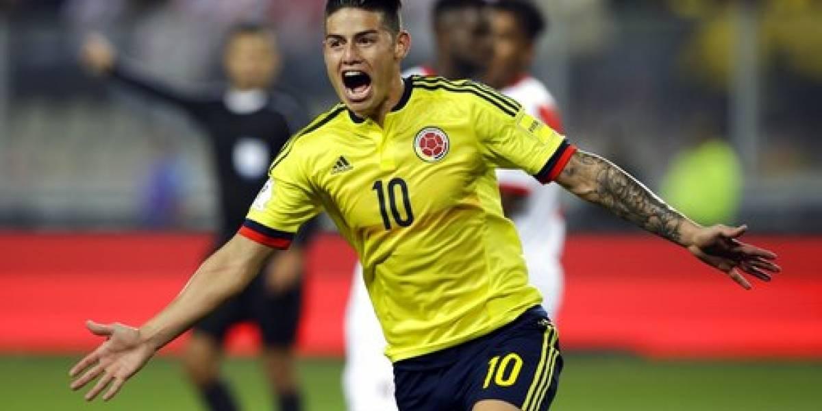 James sueña con un Colombia campeón del mundo
