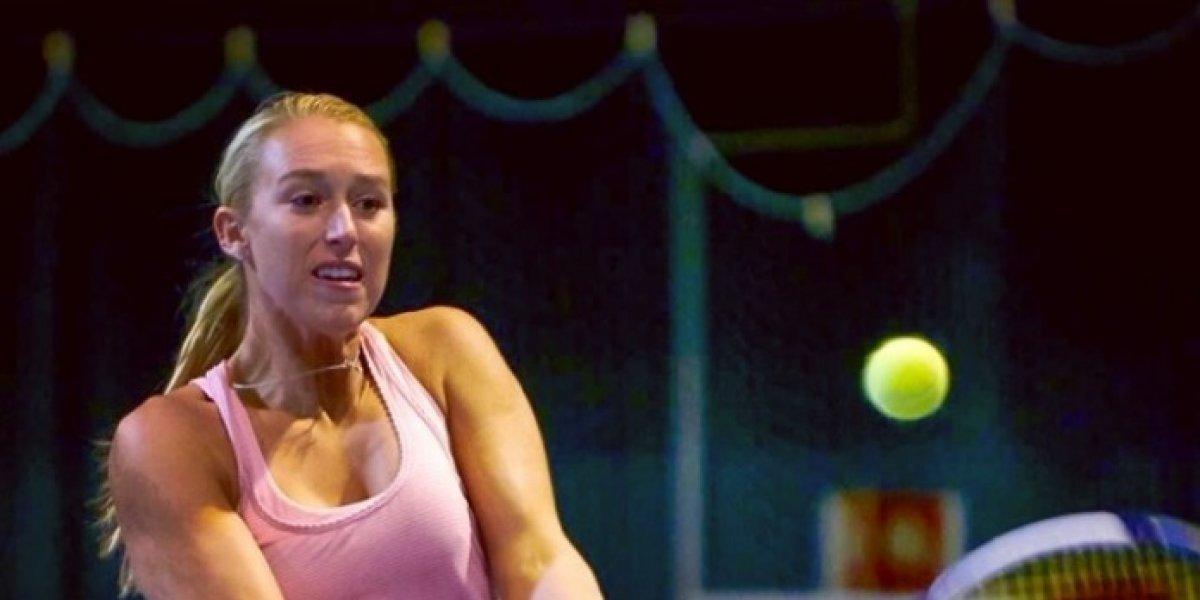 Alexa Guarachi escala tras su gran actuación y es la Nº2 del tenis chileno