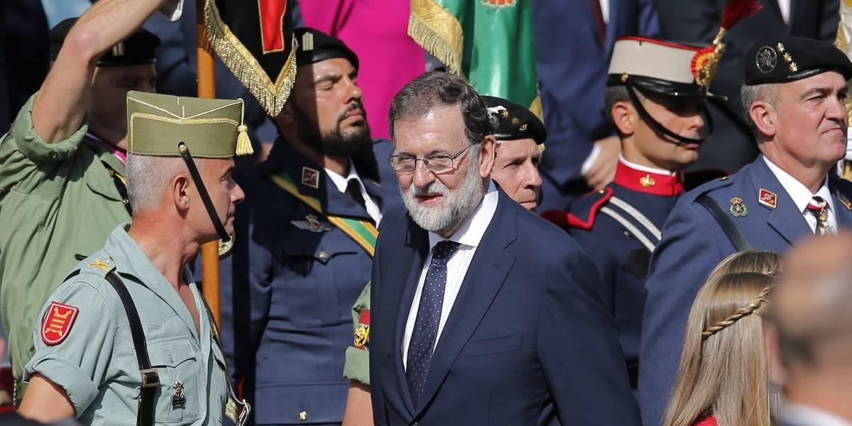 Rajoy exige a Puigdemont aclarar antes del jueves situación sobre independencia de Cataluña