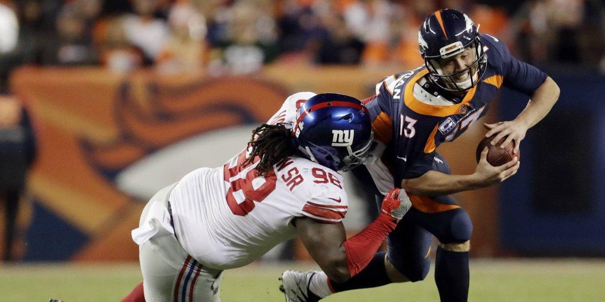 Gigantes sorprenden a los Broncos en fecha NFL