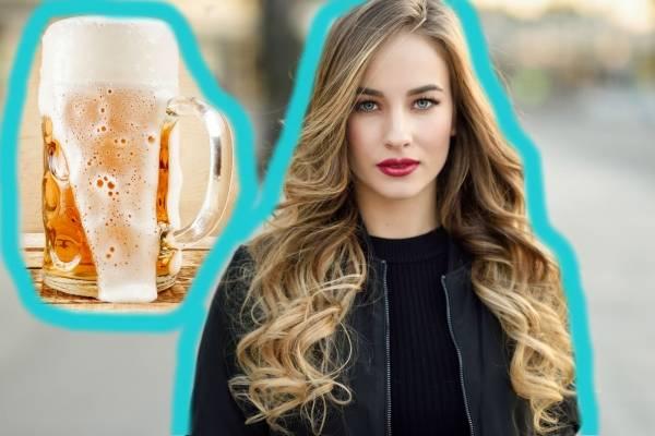 Cabello cerveza