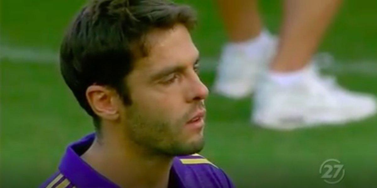VIDEO: Kaká rompe el llanto en su despedida con el Orlando City