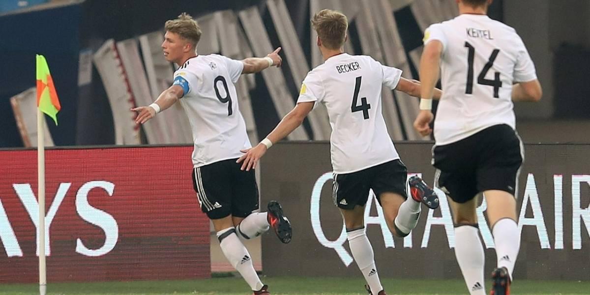 Alemania sacó a la selección Colombia del Mundial Sub-17