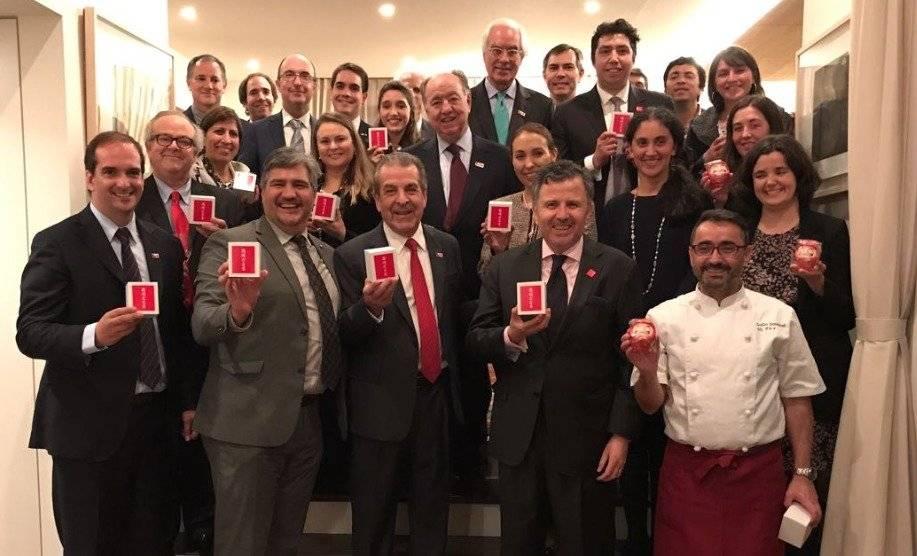 Comitiva chilena en Japón