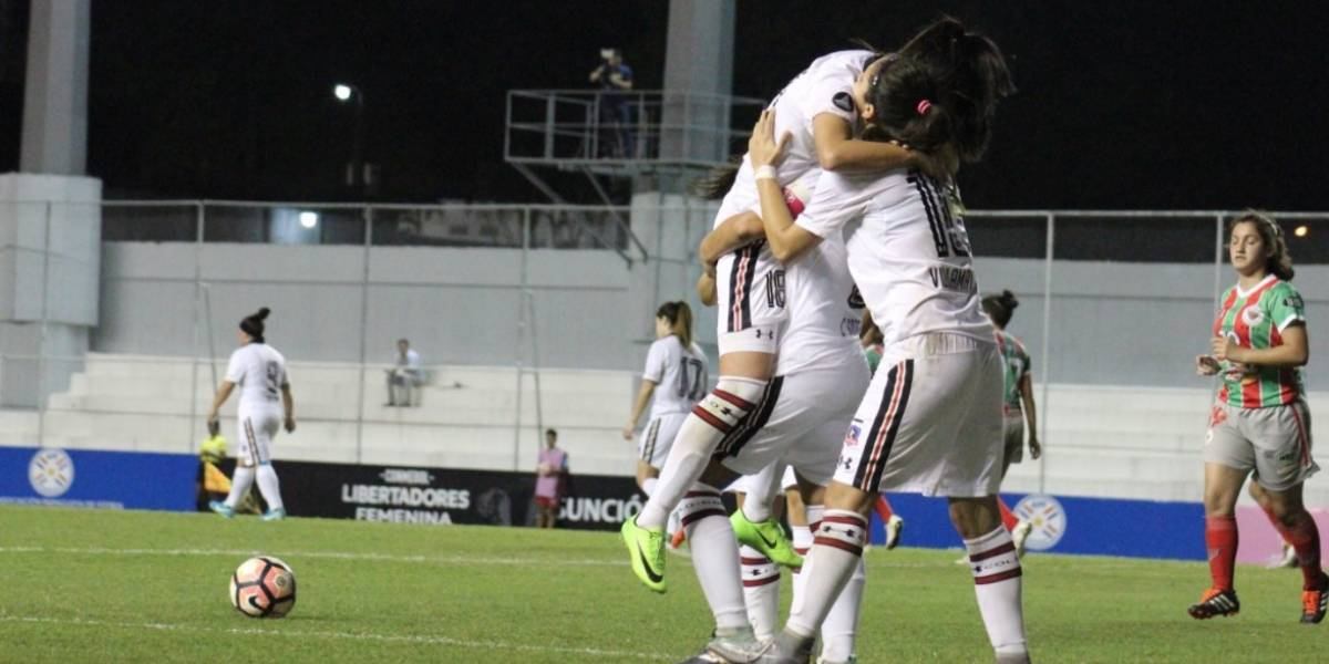 Colo Colo goleó a Colón de Uruguay y aseguraron el paso a las semifinales de la Libertadores femenina