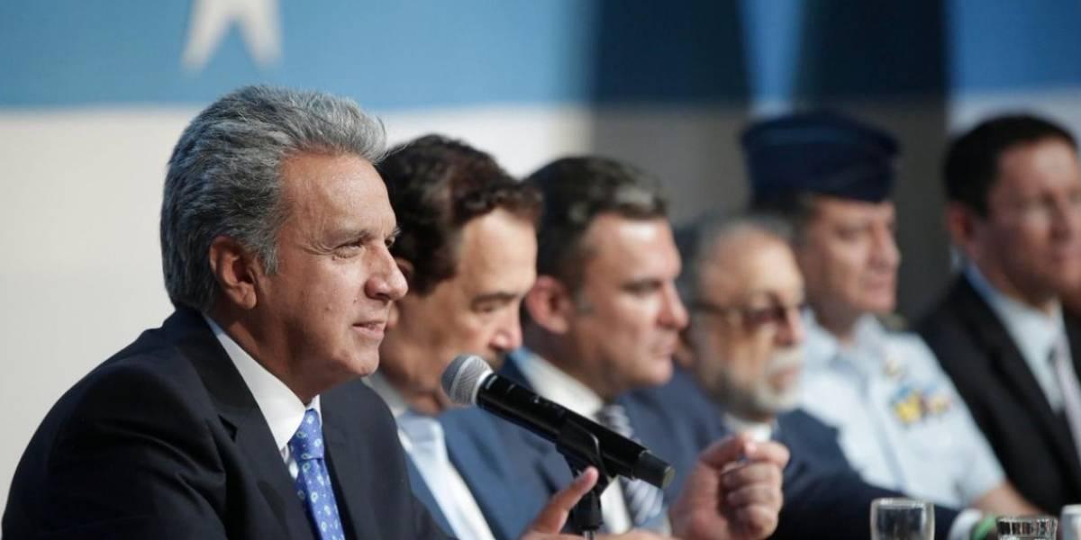 Presidente Moreno defiende en programa semanal sus medidas económicas