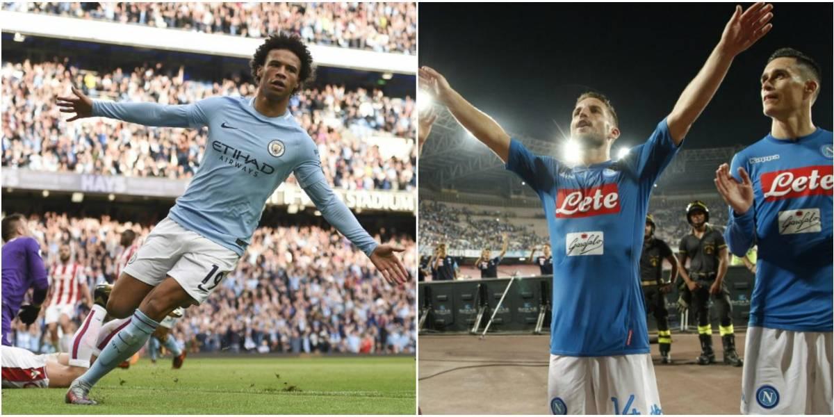 Manchester City-Napoli: El choque de potencias goleadoras que encenderá la Champions