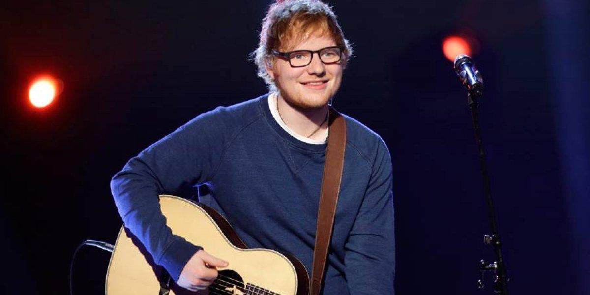 FOTO. Ed Sheeran sufre accidente en bicicleta