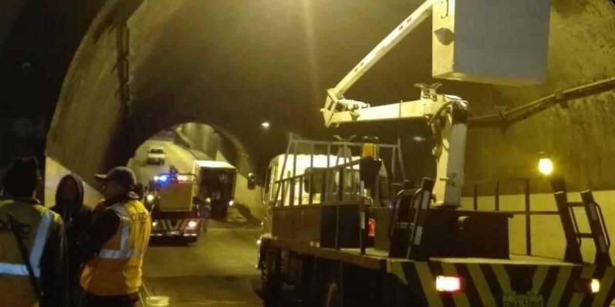 Túneles San Juan, San Roque y San Diego cerrarán por mantenimiento