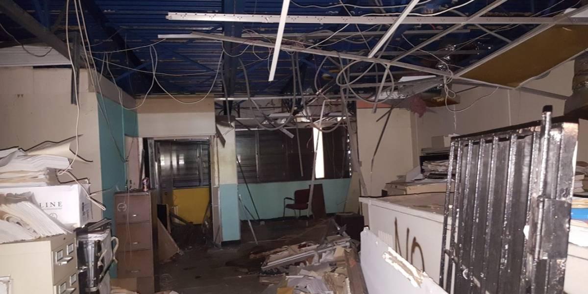 Relocalizan cuarteles de la Policía afectados por María