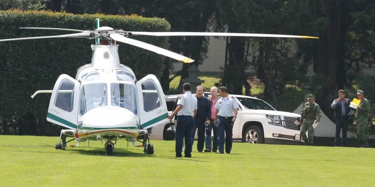Piden investigar a Gamboa Patrón por uso de helicóptero oficial