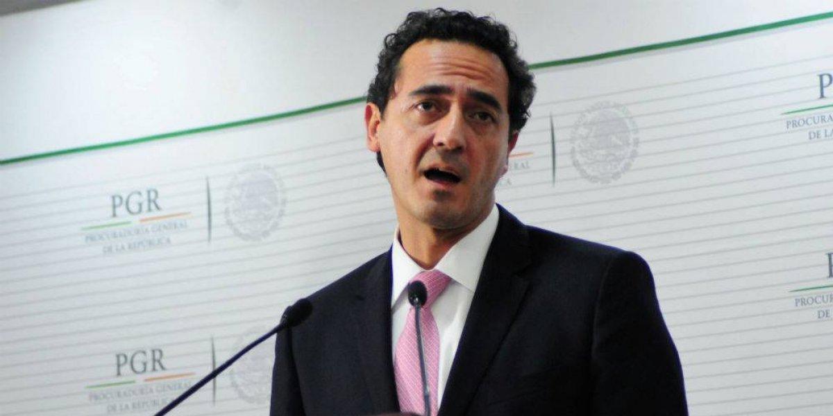 Alberto Elías Beltrán asume como procurador interino tras renuncia de Cervantes