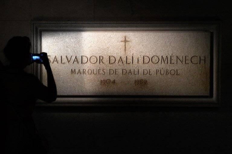Tumba de Salvador Dalí