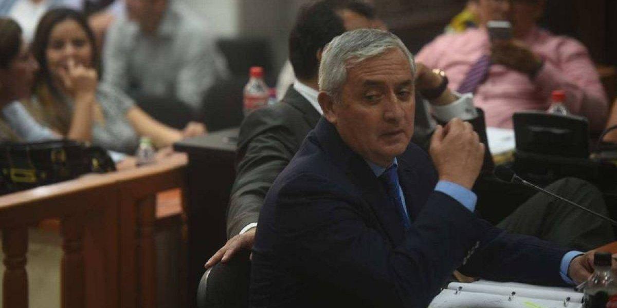 Inacif practicó evaluación a Pérez Molina y presentará resultados en audiencia