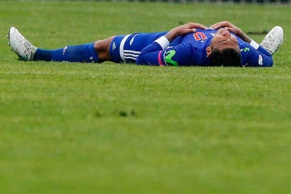 Preocupación por grave lesión de Paulo Magalhaes en duelo de Copa Chile