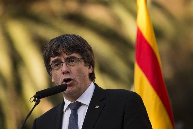 Carles Puigdemont, presidente catalán
