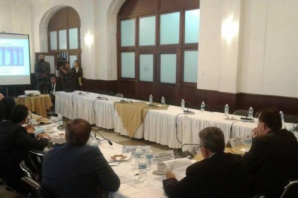 Reunión de Renap y Comisión de Finanzas del Congreso